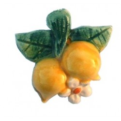 Calamita piccola in ceramica modello limoncini