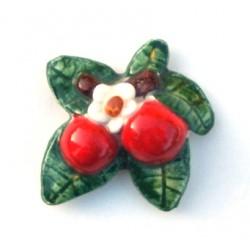 Calamita piccola in ceramica modello pomodoro