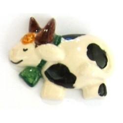 Calamita piccola in ceramica modello mucca