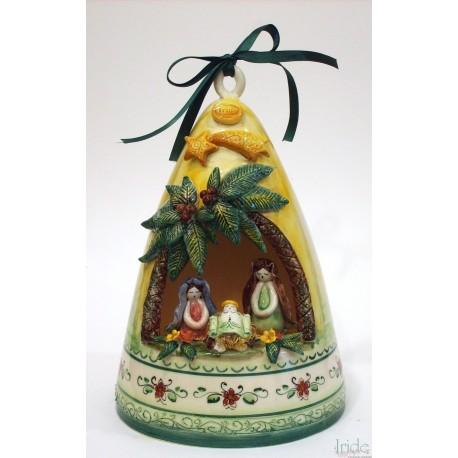 Presepe in ceramica artistica modello campana medio