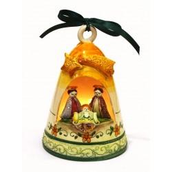 Presepe in ceramica artistica modello campana piccolo