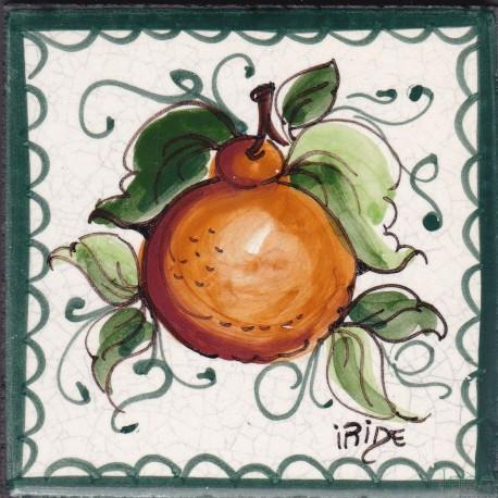 Mattonella in ceramica modello uva bianca