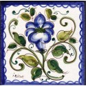 Mattonella in ceramica modello panzè