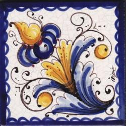 Mattonella in ceramica modello pignetta semplice