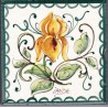 Mattonella in ceramica modello iris