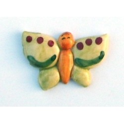 Calamita piccola farfalla ali a punta
