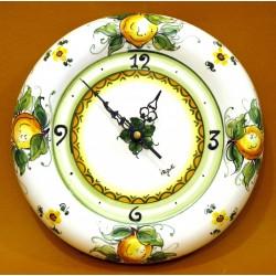 Orologio Sagomato Medio - decoro Limoni