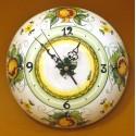 Orologio bombato medio, decoro melograno