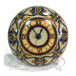 Orologio Bombato Medio - decoro geometrico